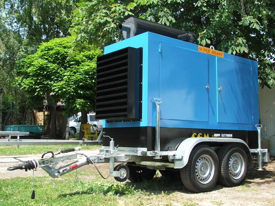 Vehicular diesel generator sets