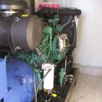 250 kVA-es Volvo motoros automatikus áramfejlesztő aggregát