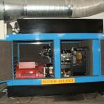 30 kVA-es Perkins motoros automatikus áramfejlesztő