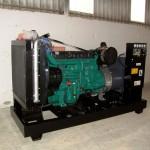 325 kVA-es Volvo motoros automatikus áramfejlesztő aggregát