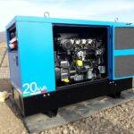 20 kVA-es KOHLER motoros dízel áramfejlesztő aggregát